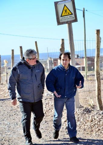 Sergio Rodrigue y Anibal Aban